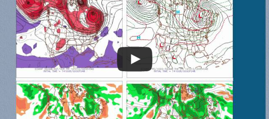 Oct 8: Wednesday NJ Forecast Video
