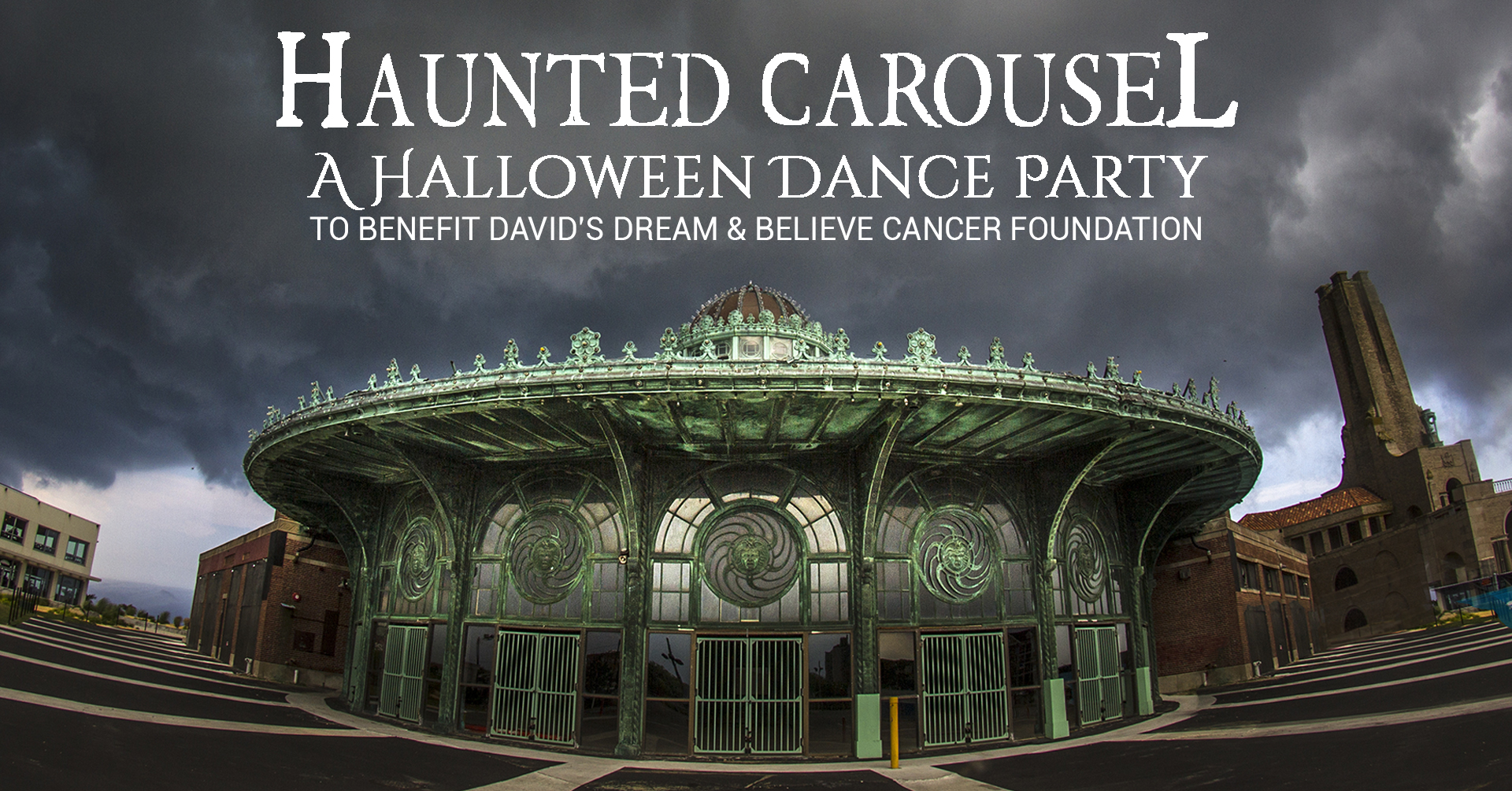 Haunted Carousel Cover Image Version 1